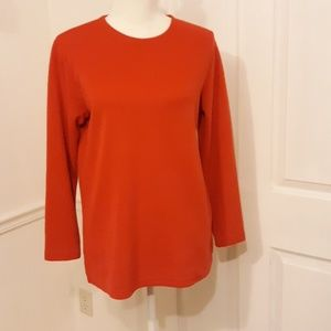 Studio Works & Co red pullover